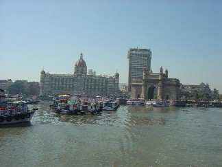 Leaving for Elephanta Island